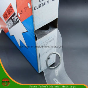 8cm High Quality Eyelet Transparent Curtain Tape (HATCL15800008) pictures & photos