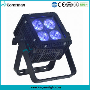 Outdoor RoHS 4X15W RGBW DMX LED PAR Light for Stage pictures & photos