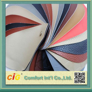 PU Leather Synthetic Leather Stocks 2 Dollar pictures & photos