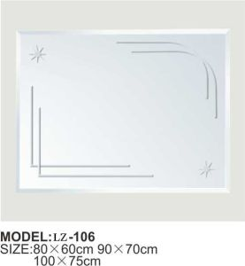 Hotel Recessed Bathroom Mirror (LZ-106) pictures & photos
