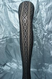 Sexy Tights Fishnet Pantyhose with Floral Pattern pictures & photos