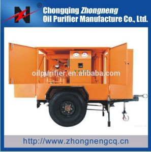Mobile Trailer Double-Stage Insulation Oil Purifier pictures & photos