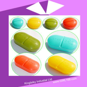 Customized Promotional Medical Gift Pill Box (BH-037) pictures & photos
