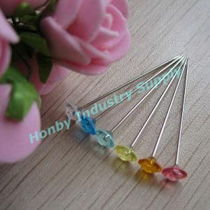 Wholesale 38mm Clear Diamond Head Wedding Hair Pins pictures & photos