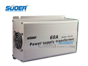 Suoer DC 24V to DC 12V Power Supply 60A Power Supply Converter (SE-60A) pictures & photos