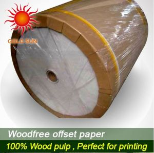 100% Virgin Wood Pulp Offset Paper pictures & photos