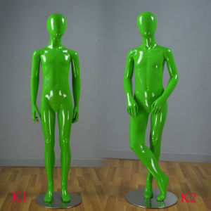Shiny European Teenage Children Mannequin for Boutique pictures & photos