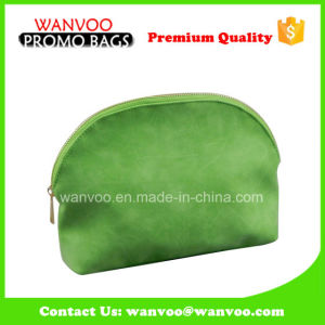 Green Makeup Bushes PU Cosmetic Bag pictures & photos