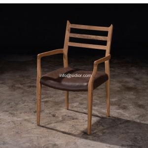 (SL-8111) Modern Hotel Restaurant Dining Wooden Arm Chair pictures & photos