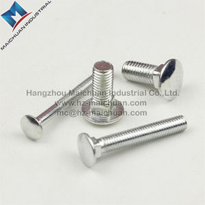 Carbon Steel M16 Flat Head Carriage Bolt DIN 603 pictures & photos