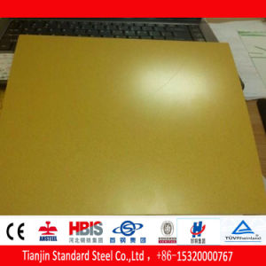 Hot Dipped Steel Coil Gp Ral 1016 pictures & photos