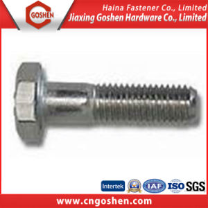 Stainless Steel DIN931 Standard Half Thread Hex Bolts pictures & photos
