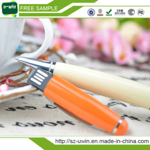 Plastic Pen 16GB USB Flash Drive with Customized Logo pictures & photos