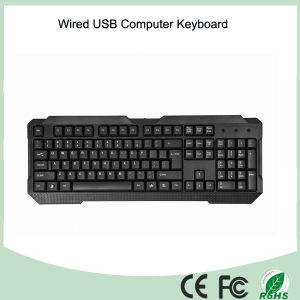 Durable UV-Coated Keys Wired Computer Keyboard (KB-1688) pictures & photos