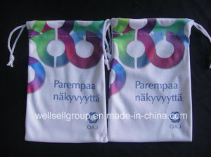 Custom Colorful Microfiber Phone Pouch with Logo Printing pictures & photos