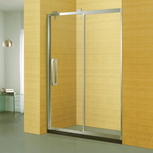 304 Stainless Steel Frame Sanitary Ware Bathroom Shower Screen (A-8949) pictures & photos