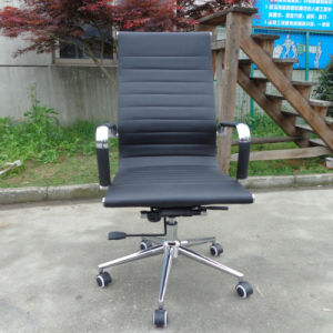 PU Leather Replica Executive Chromed Office Eames Chair (FS-8134) pictures & photos