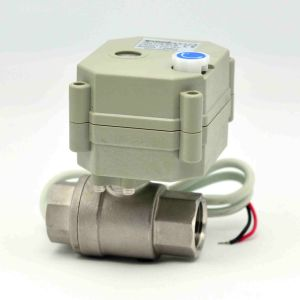Quick Close Electric Control NSF Ball Valve Actuator Auto RoHS Water Valve with Ce (T15-S2-B) pictures & photos