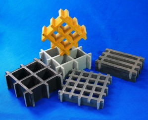 FRP/GRP Anti-Corrosion Strong Pressure Molded Grating pictures & photos
