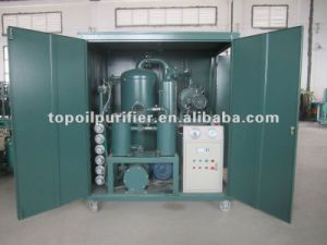 High Performance Energy Saving Double-Stage Vacuum Transformer Oil Treatment Equipment pictures & photos