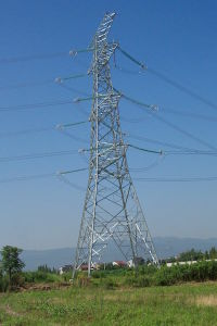 Overhead Transmission Line Steel Tower