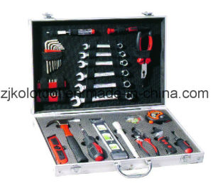 113PCS Germany Design Aluminium Hand Tool Set Box Kit pictures & photos