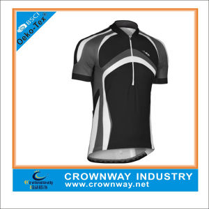 Black Bicycle Fashion Fit Cycling Jersey for Men pictures & photos