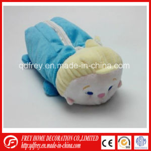 China Manufacture of Plush Soft Monkey Pencile Bag