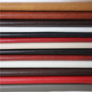 Abrasion Resistant Raw Materials Leather for Sofa Upholstery (138#) pictures & photos