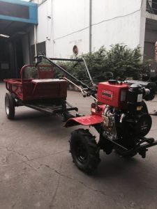 Diesel Rotary Cultivator with Trolly pictures & photos