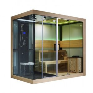 Indoor Large 4+ Person Dry Wet Sauna Bath pictures & photos