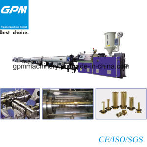 Save Energy PE Big Diameter Gas Supply Pipe Extrusion Line pictures & photos