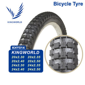 Black Inflatable Top Quality Competitive Price Bike Tire pictures & photos