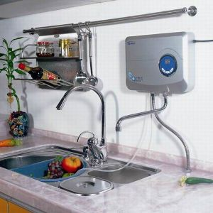 Kitchen Ozone Water Purifier Water Filter Drinking pictures & photos