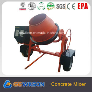 High Quality Portable Concrete Mixer with Electric Motor pictures & photos