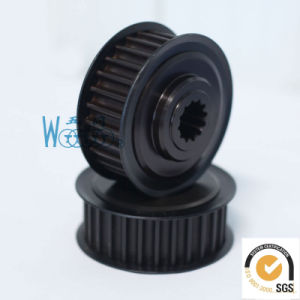 Aluminum Arc Tooth Synchronous Pulley pictures & photos