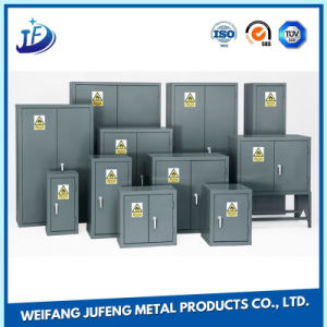 Aluminum/Stainless Steel Sheet Metal Stamping for Office Cabinet pictures & photos