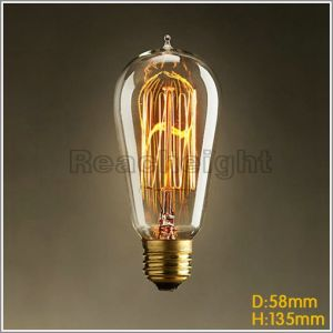 Fg St58 E27 110V 220V Vintage Edison Bulb Incandescent Light Bulbs pictures & photos