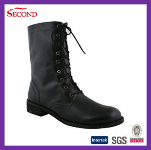 Black Color Lady Safety Boots