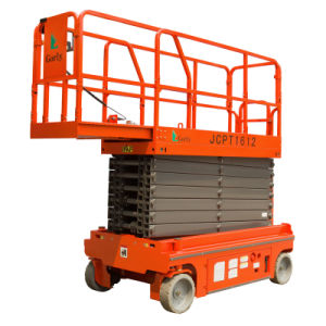 Aerial Work Hydraulic Self Propelled Scissor Man Lift