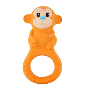 Monkey Shaped Rubber Teether Toys, Rubber Teethers, Teether Baby Toy pictures & photos