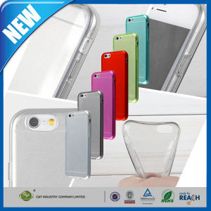 """0.3mm Ultra Thin Clear TPU Case for iPhone 6 4.7"""" pictures & photos"""