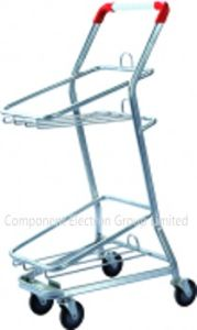 Chrome Basket Trolley pictures & photos