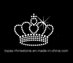 in Stock Iron on Hot Fix Rhinestone Motif for Clothes (TM51) pictures & photos