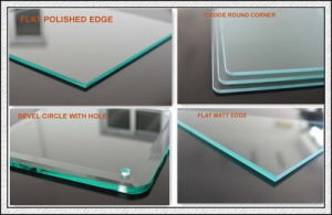Small Pieces Tempered Glass Toughened Glass with Pencil Edges pictures & photos