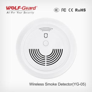 Wireless Fire Alarm Photoelectric Smoke Detector Smoke Sensor pictures & photos