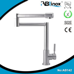Stainless Steel Folding Kitchen Faucet Tap (AB142) pictures & photos
