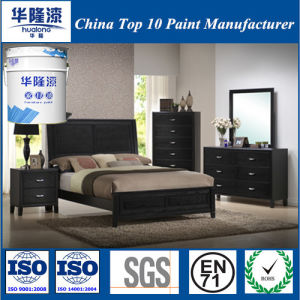 Hualong Nc Soft Matt Black Furniture Paint (50 ° Gloss) pictures & photos