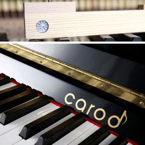123cm Upright Piano Teak Finish pictures & photos