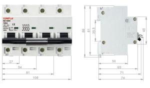 Nc100h Mini Circuit Breaker 10ka IEC 60947 pictures & photos